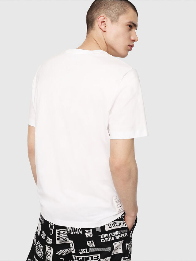 Diesel - T-JUST-Y7, White - T-Shirts - Image 2