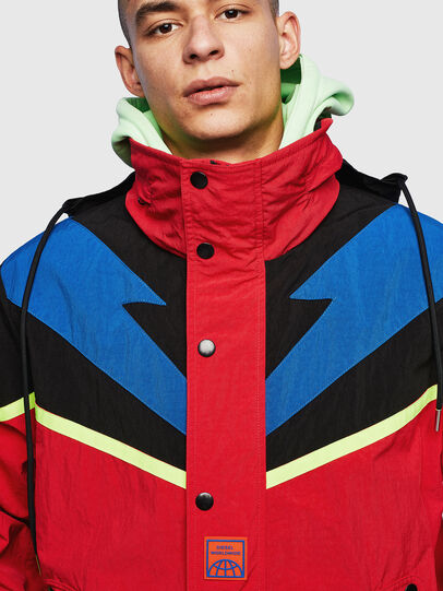 Diesel - J-BENDER, Red - Jackets - Image 6