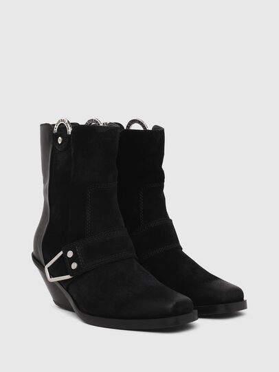 Diesel - D-GIUDECCA MAR, Black - Ankle Boots - Image 2