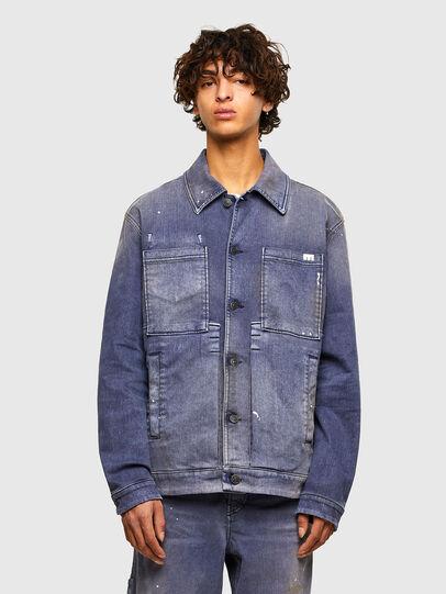 Diesel - D-ANTONY-SP, Medium blue - Denim Jackets - Image 1
