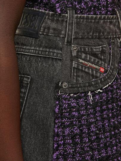 Diesel - D-OLGA, Black/Violet - Dresses - Image 4