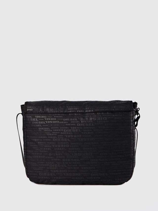 Diesel F-DISCOVER MESSENGER, Black/Red - Crossbody Bags - Image 3
