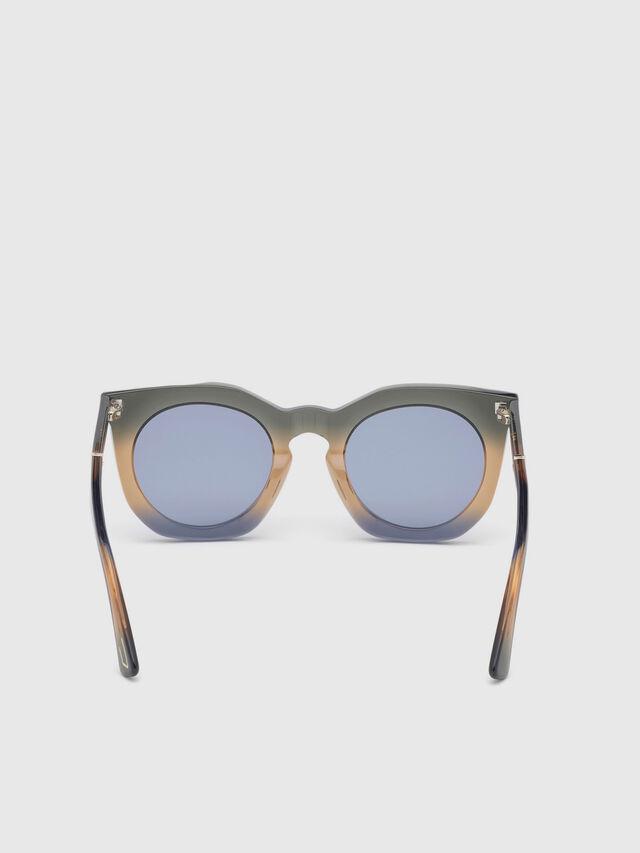 Diesel - DL0283, Blue/Yellow - Sunglasses - Image 4