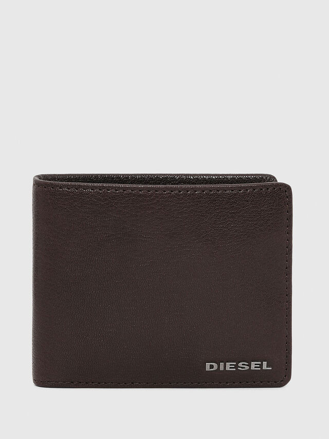 Diesel - HIRESH S, Brown - Small Wallets - Image 1