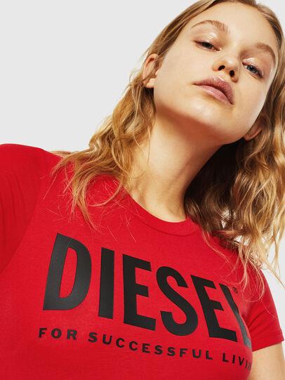 Diesel - UFBY-BODYTEE, Red - Bodysuits - Image 3
