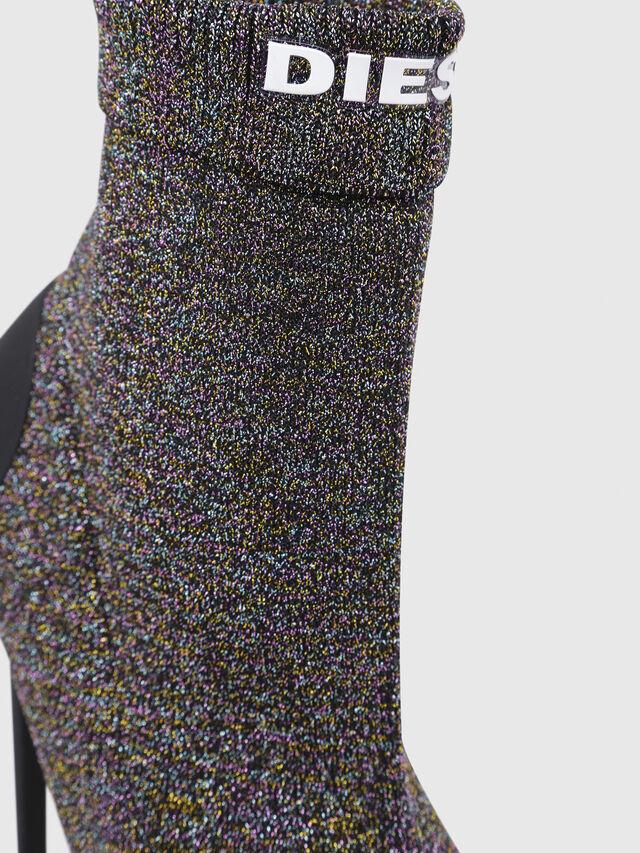 Diesel - D-SLANTY HASM, Multicolor/Black - Ankle Boots - Image 4