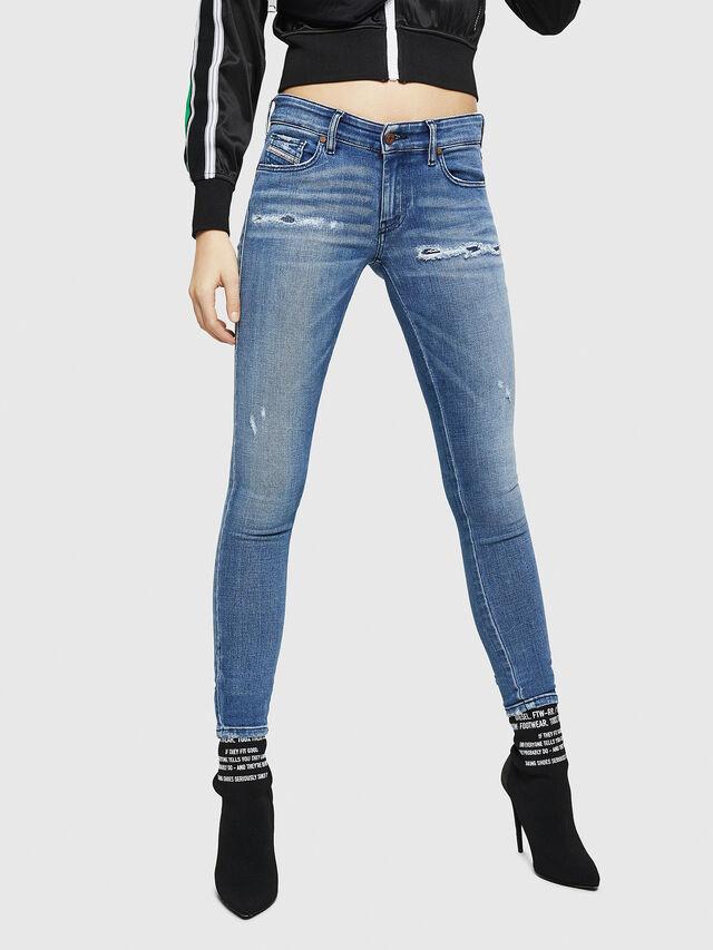 Diesel - Slandy Low 083AP, Medium blue - Jeans - Image 1