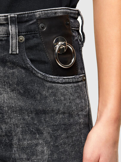 Diesel - Babhila 009PX, Black/Dark grey - Jeans - Image 4