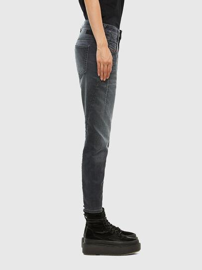 Diesel - Fayza JoggJeans 069QA, Black/Dark grey - Jeans - Image 3