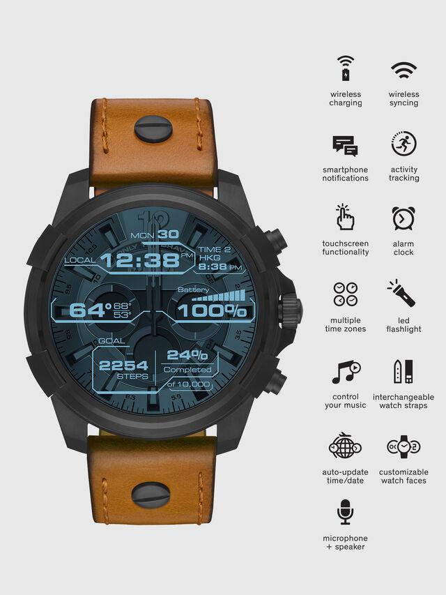 Diesel DT2002, Brown - Smartwatches - Image 1