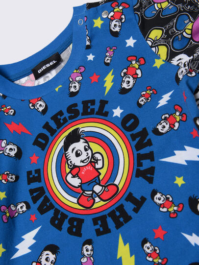 Diesel - TOTIXB, Blue/Black - T-shirts and Tops - Image 3