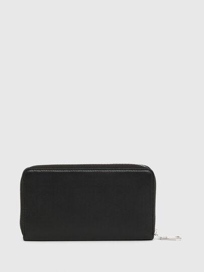 Diesel - GRANASOF, Black - Zip-Round Wallets - Image 2