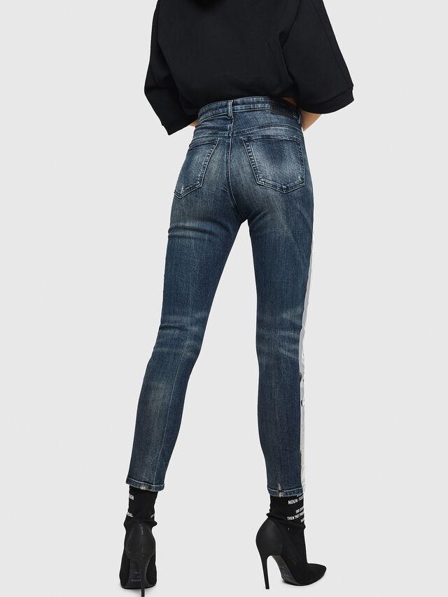 Diesel - Babhila High 069HN, Dark Blue - Jeans - Image 2
