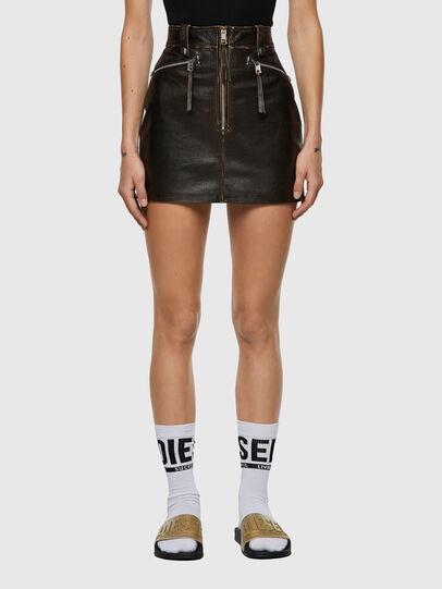 Diesel - L-EMILIA, Black - Skirts - Image 1