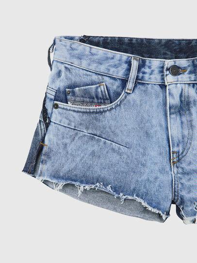 Diesel - DE-RIMY, Light Blue - Shorts - Image 3