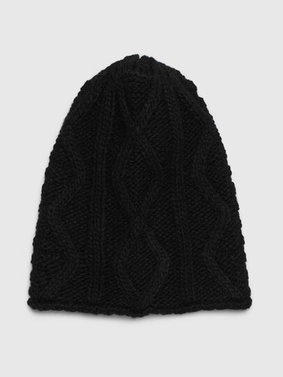 Diesel - KRED, Black - Knit caps - Image 1