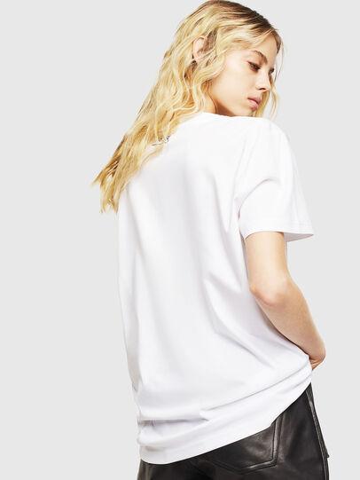 Diesel - T-DARIA-Y, White - T-Shirts - Image 2