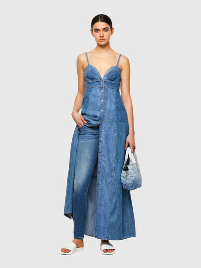 Diesel - DE-ARYA-SP, Medium blue - Dresses - Image 5