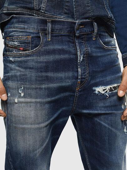 Diesel - D-Vider 0090G, Dark Blue - Jeans - Image 3