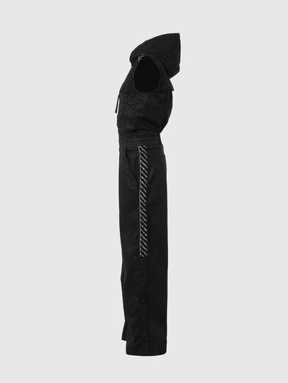 Diesel - D-JAYLEN JOGGJEANS, Black/Dark grey - Jumpsuits - Image 6