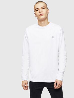 T-JUSTY-LS, White - T-Shirts