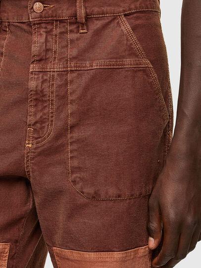 Diesel - D-Franky JoggJeans® 0DDAW, Brown - Jeans - Image 5