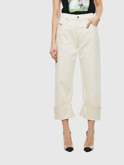 Diesel - D-Reggy 009BB, White - Jeans - Image 1