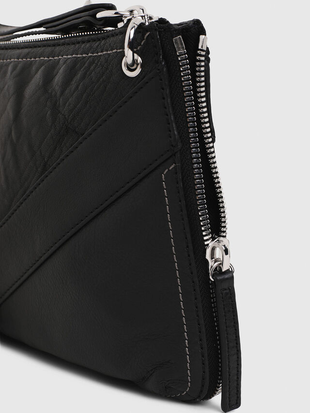 Diesel LE-LITTSYY, Black Leather - Clutches - Image 6
