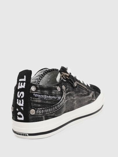Diesel - EXPO-ZIP LOW W, Black Jeans - Sneakers - Image 4