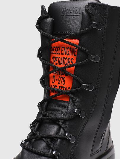 Diesel - H-WOODKUT BT, Black - Boots - Image 6