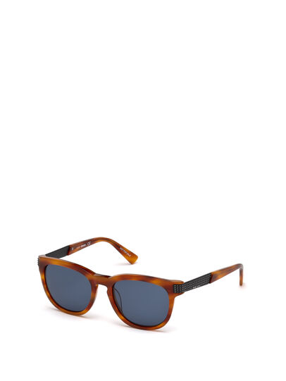 Diesel - DL0237, Light Brown - Sunglasses - Image 4