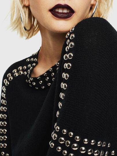 Diesel - M-KRIPX, Black - Knitwear - Image 3