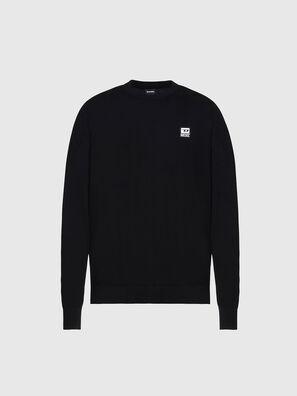 K-FREEX-B, Black - Knitwear