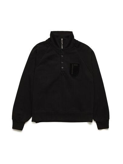 Diesel - GR02-T302, Black - Sweatshirts - Image 1