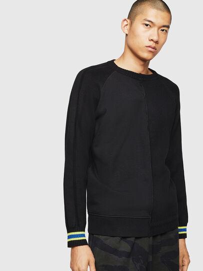 Diesel - K-BOX, Black - Knitwear - Image 1