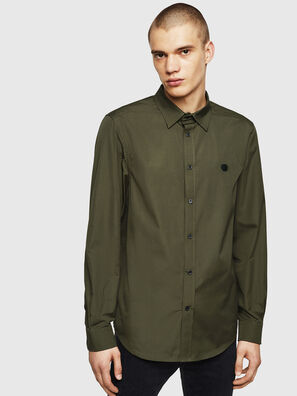 S-BILL, Dark Green - Shirts