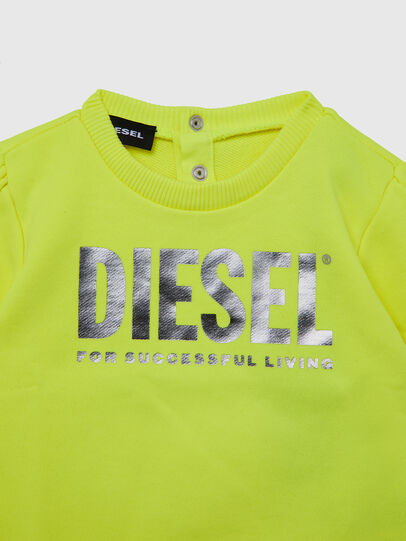 Diesel - SVELIB, Yellow - Sweaters - Image 3
