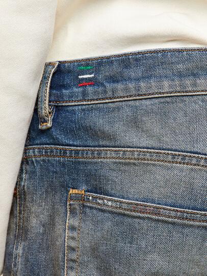 Diesel - D-Vider 009NH, Medium blue - Jeans - Image 4