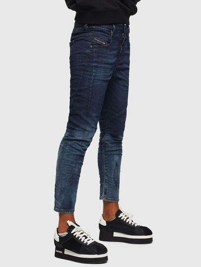 Diesel - Fayza JoggJeans 069KC, Dark Blue - Jeans - Image 5