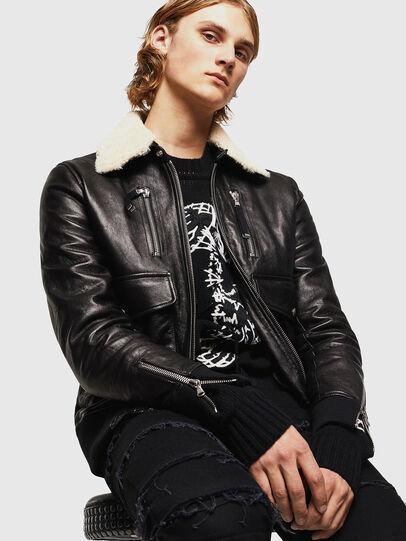 Diesel - L-VINT,  - Leather jackets - Image 4