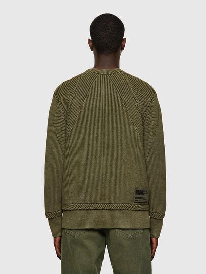 Diesel - K-MAINE, Olive Green - Knitwear - Image 2