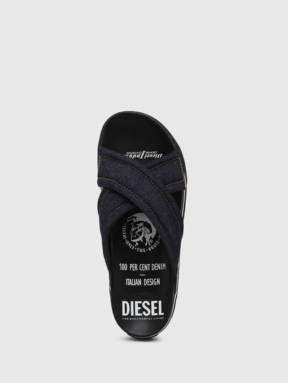 Diesel - SA-GRAND X, Blue Jeans - Sandals - Image 5