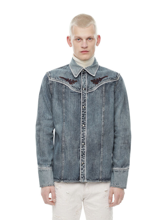 Diesel - SHESTERN, Blue Jeans - Shirts - Image 1