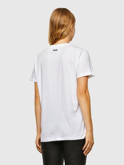 Diesel - T-DARIA-V33, White - T-Shirts - Image 2