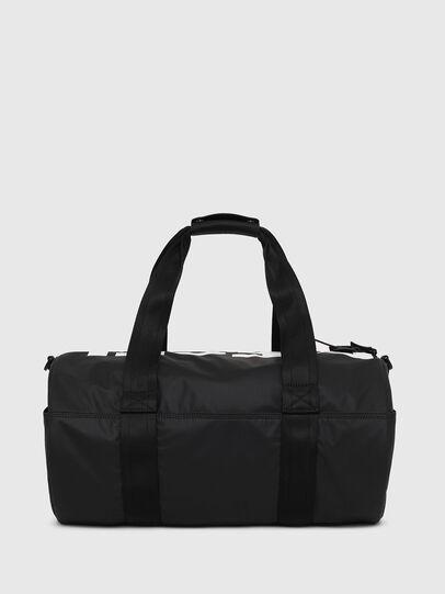 Diesel - F-BOLD DUFFLE, Black/White - Travel Bags - Image 2