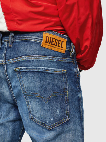 Diesel - Sleenker 069FY, Medium blue - Jeans - Image 4