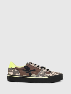 S-FLIP LOW, Marron Military - Sneakers