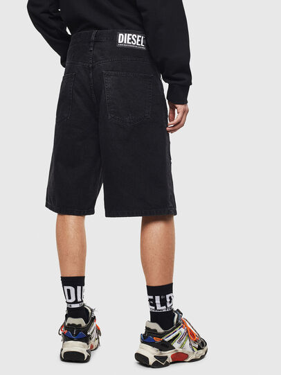 Diesel - D-BRON, Black/Dark grey - Shorts - Image 2