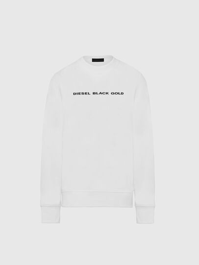 Diesel - SNEILB-A, White - Sweaters - Image 1