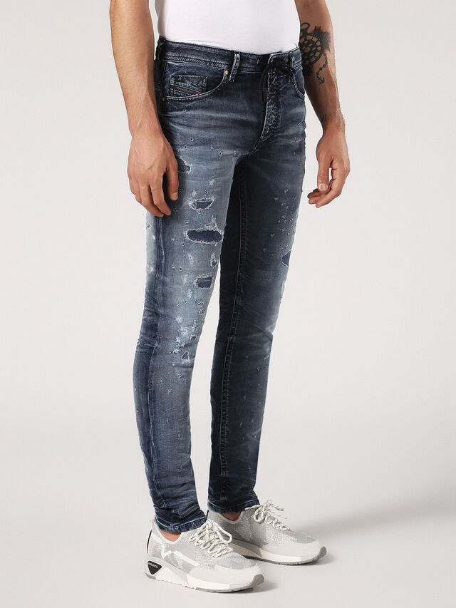 THOMMER CB JOGGJEANS 069CC, Blue jeans